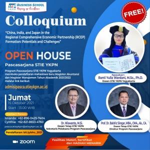 Open House dan Colloquium Program Pascasarjana STIE YKPN Yogyakarta