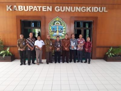 Kerjasama Dengan Pemda Kabupaten Gunung Kidul DIY