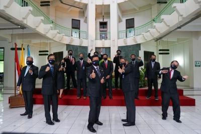 Pelantikan Ketua dan Pimpinan STIE YKPN Periode 2021-2025