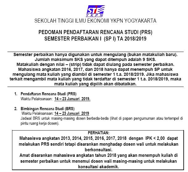 Pedoman SP 1 2018