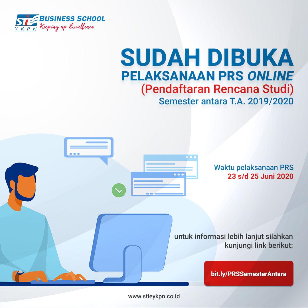 SUDAH DIBUKA PELAKSANAAN PRS SECARA ONLINE