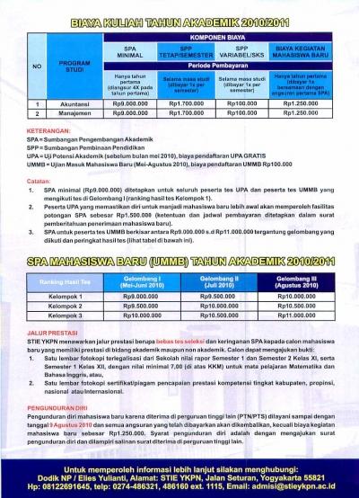 Pemberitahuan Pembayaran BRS Sem Perbaikan II 2016/2017
