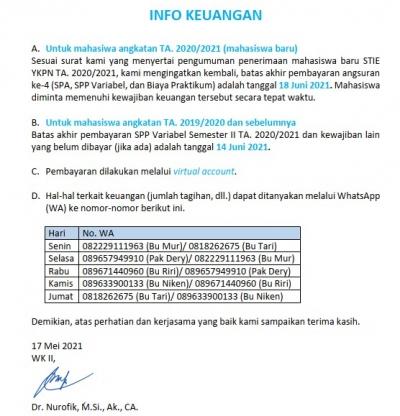 Info Keuangan