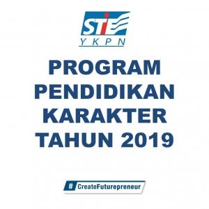 INFO PROGRAM PENDIDIKAN KARAKTER (PPK) TAHUN 2019 BAGI MAHASISWA ANGKATAN 2017 DAN 2018 YANG BELUM MENGIKUTI