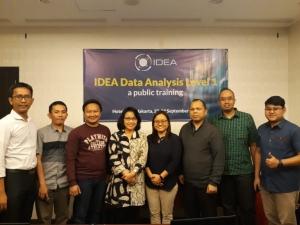 Tingkatkan Kompetensi, Dosen STIE YKPN Yogyakarta mengikuti pelatihan Pengauditan Berbantuan Komputer dengan software audit IDEA