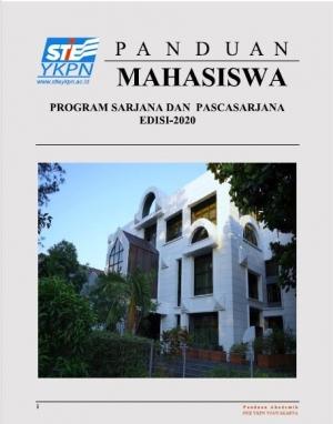 BUKU PANDUAN MAHASISWA PROGRAM SARJANA DAN PASCASARJANA EDISI 2020